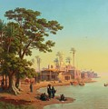 On The Banks Of The Nile by Johann Jakob