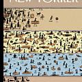 On The Beach by Tom Gauld