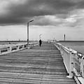 On The Boardwalk 2 by Ingrid Dendievel