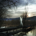 On The Bridge by Joana Kruse