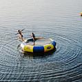 On The Lake by Enrico Della Pietra