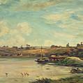 On The Loire by Charles Francois Daubigny