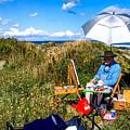 On The Maine Coast by Francois Lamothe
