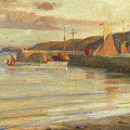 On The North Devon Coast by Frank Dicksee