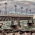 On The Pier by Dennis R Bean