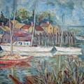On The Pier by Joseph Sandora Jr
