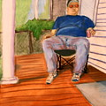 On The Porch With Uncle Pervy by Jean Haynes