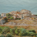 On The Road To Manosque II by E Colin Williams ARCA