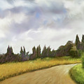 On The Road To Siena by Dennis Kirby