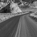 On The Road Valley Of Fire State Park  by John McGraw