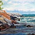 On The Rocks by Stephanie Allison
