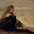 On The Seashore by George Elgar Hicks