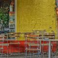 On The Sidewalks Of Berlin by Uri Baruch