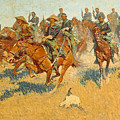 On The Southern Plains Frederic Remington by John Stephens