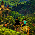On The Way To Bran Castle by Dan Mintici