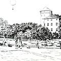 on Wawel by Marta Gawronska