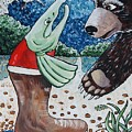 Once Bear And Salmon_part 1 by Mariia Taylor