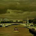 Oncoming Storm Paris France by Thu Nguyen