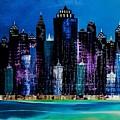 One City Night 9 by Barry Knauff