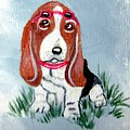 One Cool Basset Hound by Tammy Brown