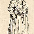 One-eyed Woman by Jacques Callot
