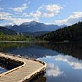One Mile Lake Walkway Pemberton by Pierre Leclerc Photography