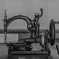 One Of The First Sewing Machines by Linda Howes