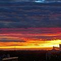 One Of The Prettiest Sunrises by Carolyn Fletcher