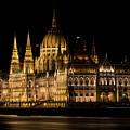 One Starry Night In Budapest by Jaroslaw Blaminsky