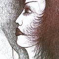 One Tear  by Wojtek Kowalski