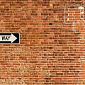 One Way by Enrico Della Pietra