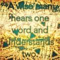 One Word by Marko Sabotin
