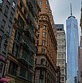 One World Trade Center New York Ny From Nassau Street by Toby McGuire