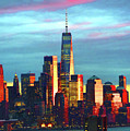 One World Trade Sunset Spectacle by Regina Geoghan