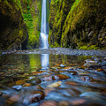 Oneonta Cascades by Inge Johnsson