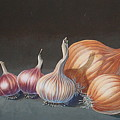 Onions And Garlic by  Keith Kochenour