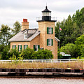 Ontonagon Lighthouse by Phyllis Taylor