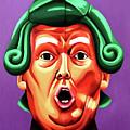 Oompa Loompa Trump by Adam Campbell