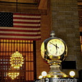 Opal Atomic Clock At Grand Central by Jacqueline M Lewis