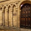 Open Door At Ely by Jean Noren