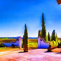Open Gate by Rick Bragan