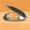 Open Mussel by Dominic White