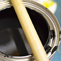 Open Paint Can With Brush by Jason Freedman