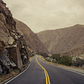 Open Road Through The Canyon by Justin Carrasquillo