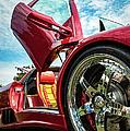Open Sesame Red - Lamborghini Diablo  by George Buxbaum