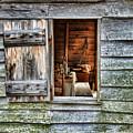 Open Window In Pioneer Home by Jill Battaglia