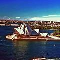 Opera House Sydney Austalia by Gary Wonning