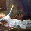 Ophelia by Cabanel Alexandre