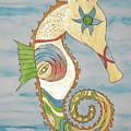 Ophelia The Seahorse by Erika Swartzkopf