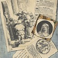 Optical Illusion With Prints And Pamphlets, L. Groskopf, C. 1746 by L Groskopf